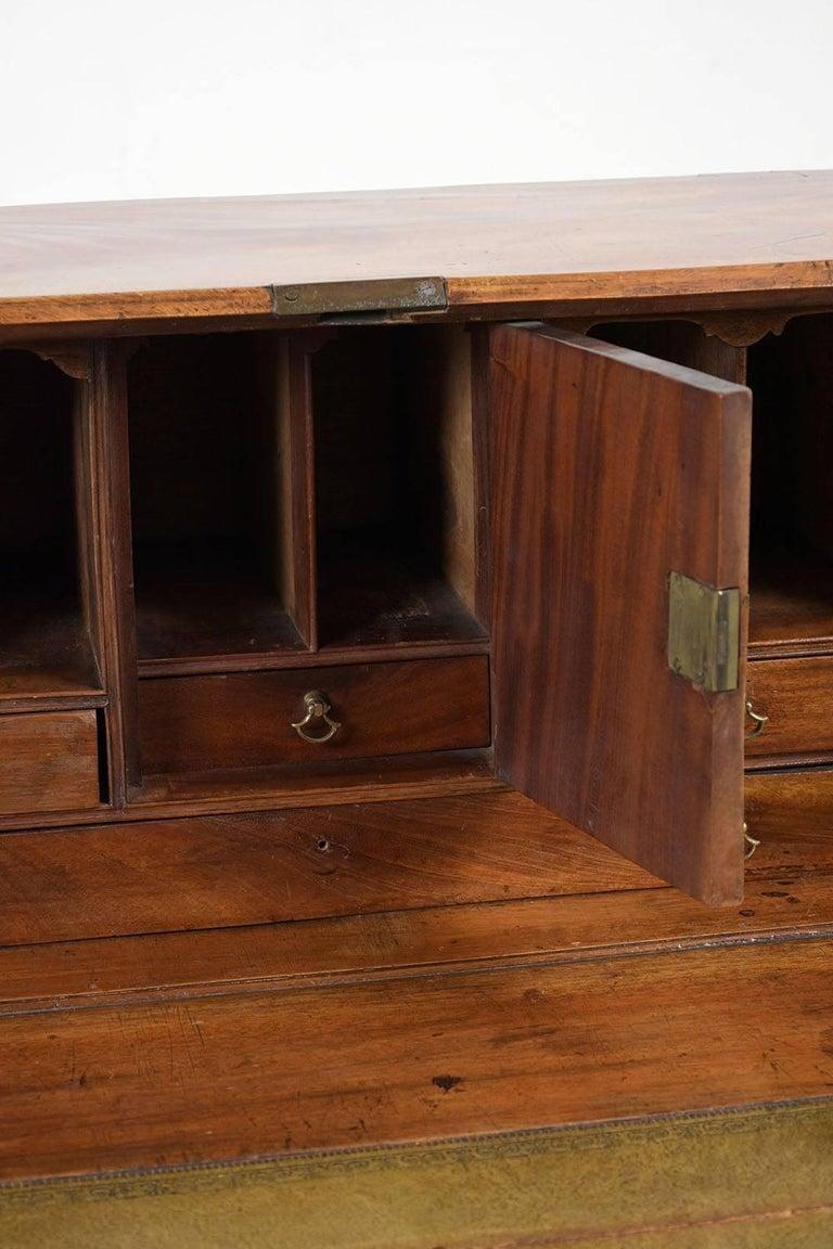 English Slant Front Secretary Desk, circa 1820s For Sale 2