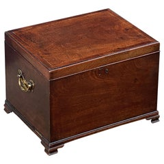 English Small Chest of Mahogany from the George III Era