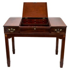 English Stand Up Desk with Lift Top