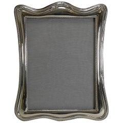 English Sterling Silver Art Nouveau Photograph / Picture Frame, 1926