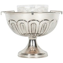 English Sterling Silver Caviar Dish Service