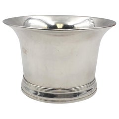 English Sterling Silver Georgian 1760 Cup from Former Gov. of NY Stock Exchange