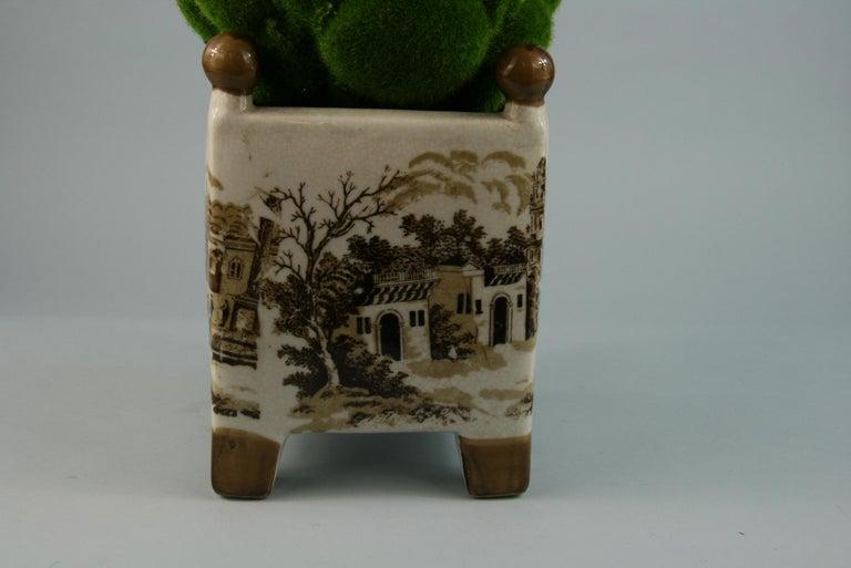 English Stoneware Garden Topiary For Sale 2