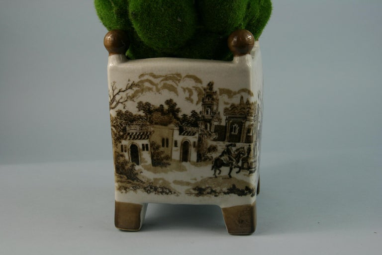 English Stoneware Garden Topiary For Sale 3