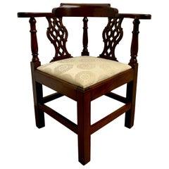 English Style Corner Chair