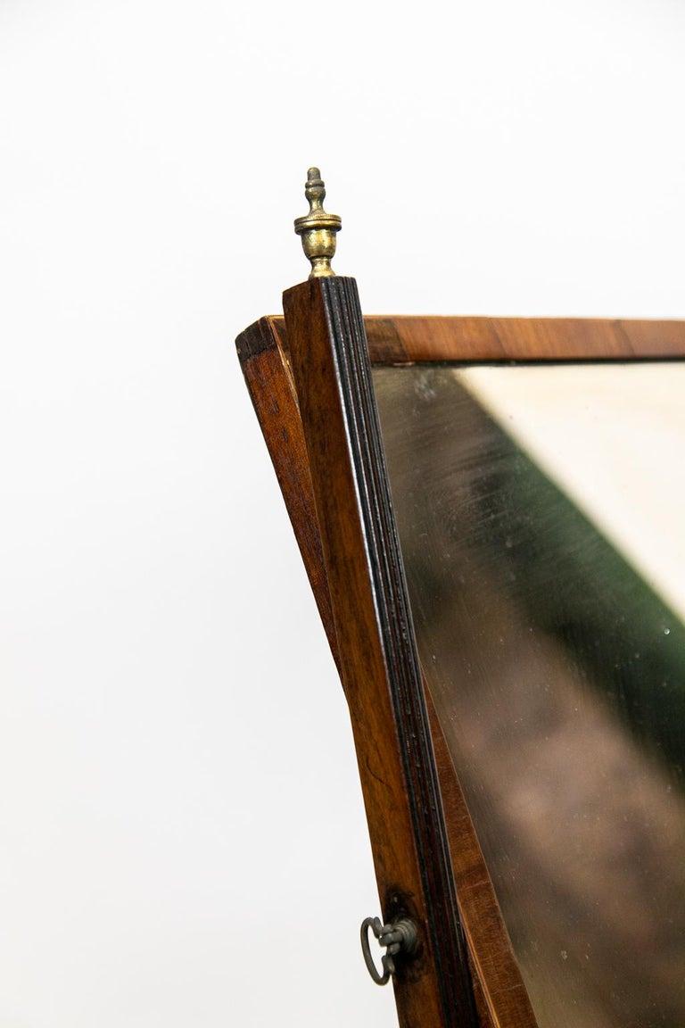 English Three-Drawer Dressing Mirror For Sale 5