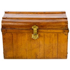 English Tin Travel Trunk