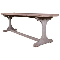 English Trestle Table