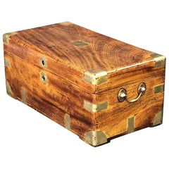 British Campaign Trunk or Chest of Camphorwood