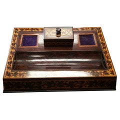 English Tunbridgeware Inkstand