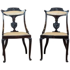 English Upholstered Chairs from the 19th Century