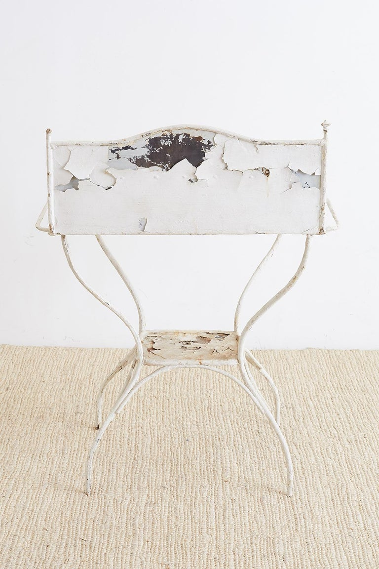 English Victorian Iron Wash Stand or Garden Planter For Sale 5