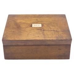 English Victorian Rosewood Box