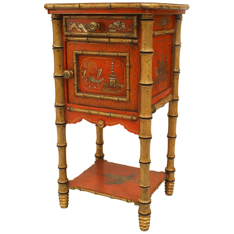 official photos e8320 61a42 English Victorian Style '19th-20th Century' Bedside Table/Commode