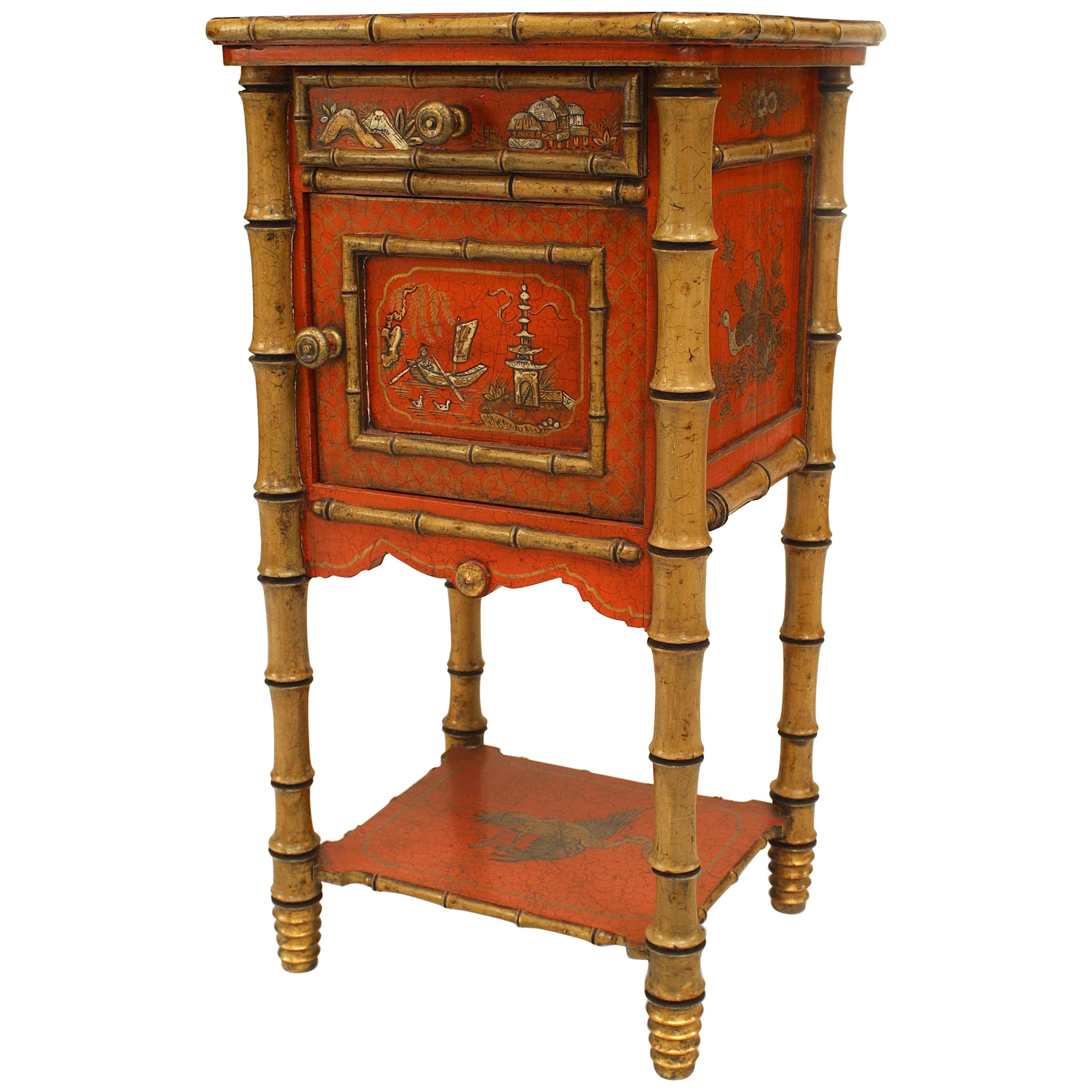 Delicieux English Victorian Style U002719th 20th Centuryu0027 Bedside Table/Commode ...