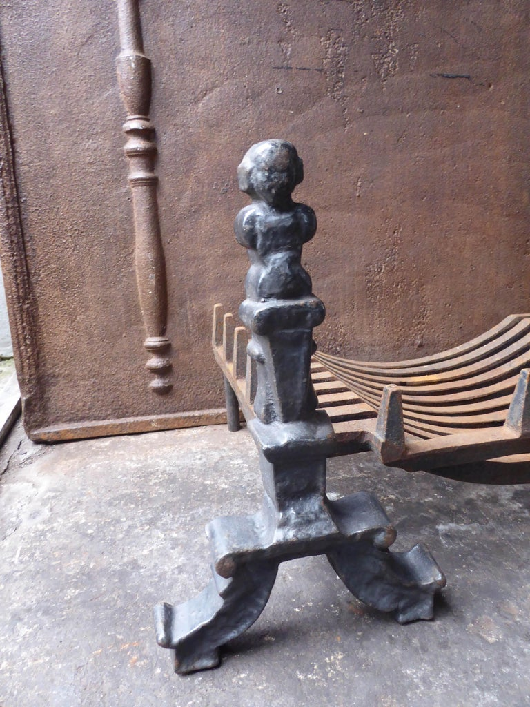 20th Century English Victorian Style Fireplace Grate, Fire Grate
