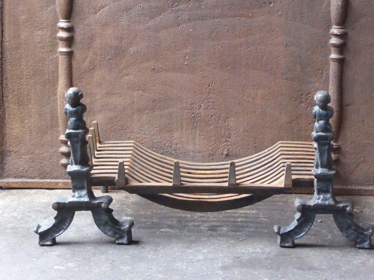 English Victorian Style Fireplace Grate, Fire Grate 1