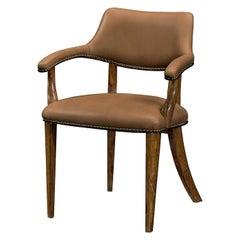 English Walnut Desk Chair