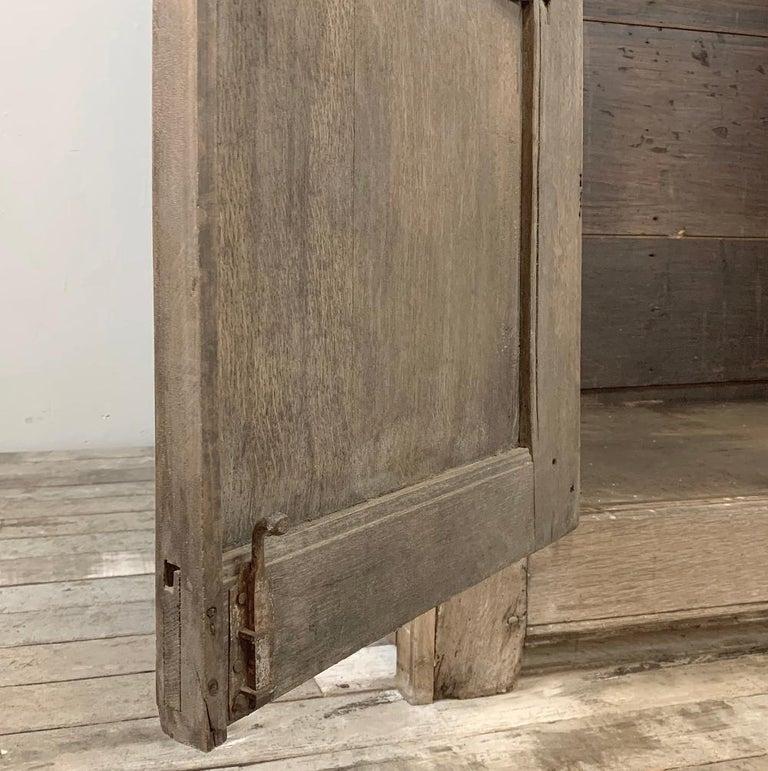 English Wardrobe, 19th Century Stripped Oak 6
