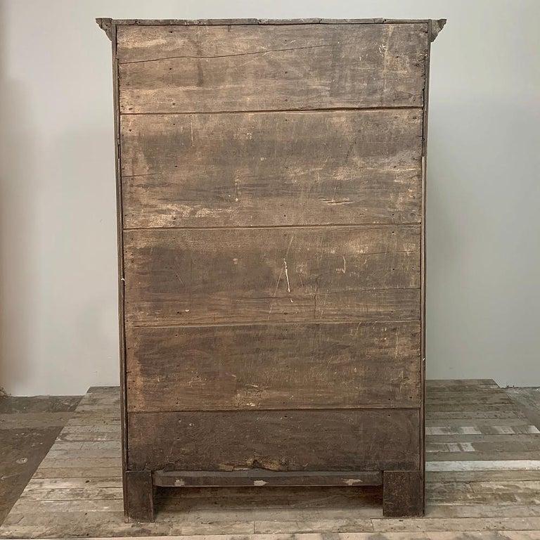 English Wardrobe, 19th Century Stripped Oak 8