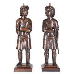 English Warrior Lamps