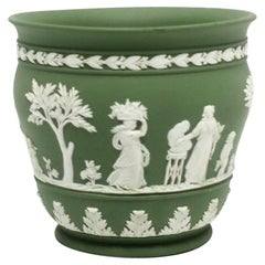English Wedgwood Jasperware Planter Cachepot Jardinière Neoclassical Design