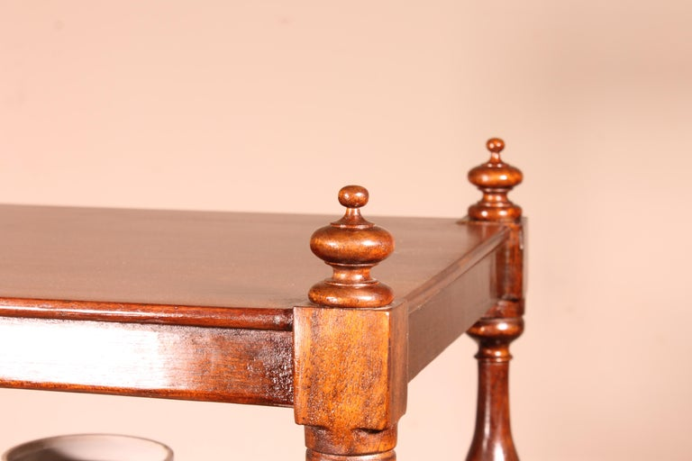 English Whatnot 19th Century in Mahogany For Sale 6