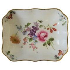 English White Gold Porcelain Royal Crown Derby Jewelry Dish