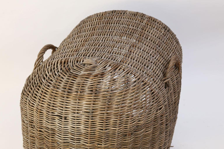 English Brown Wicker Dog Kennel Basket For Sale 3