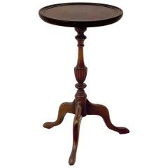 English Wine Table of Mahogany