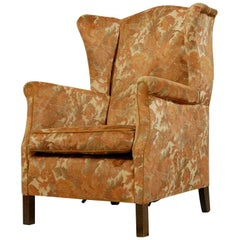 English Wingback Armchair