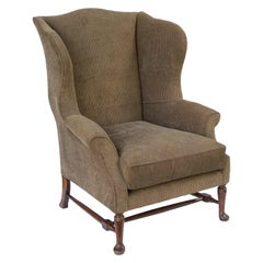 English Wingback or Library Armchair