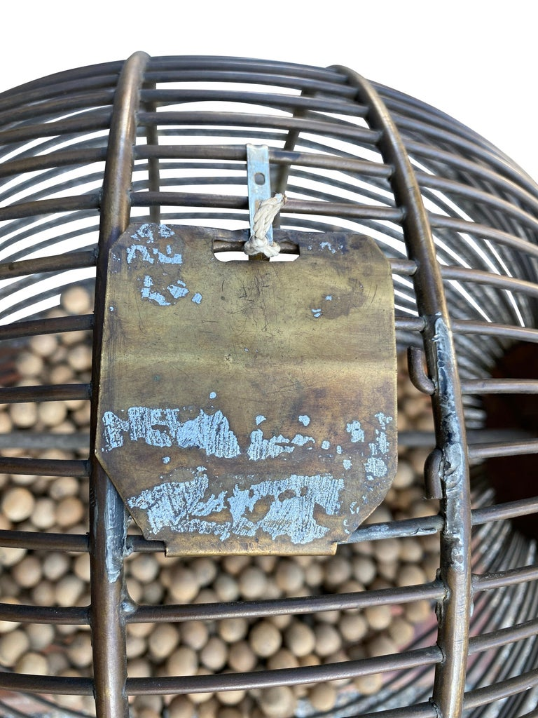 English Wood and Iron Bingo Wheel For Sale 5