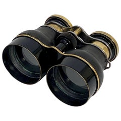 English Working Binoculars or Field Glasses by J.H. Steward Ltd., circa 1920
