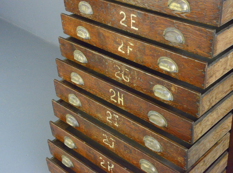 English Workshop Drawers, circa 1930s For Sale 1