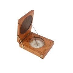 Engraved Boxwood Sundial English Manufacture of the 18th Century