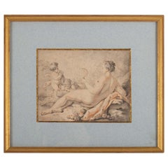 Engraving, 19th Century Antiquity, Napoleon III Period, Framed