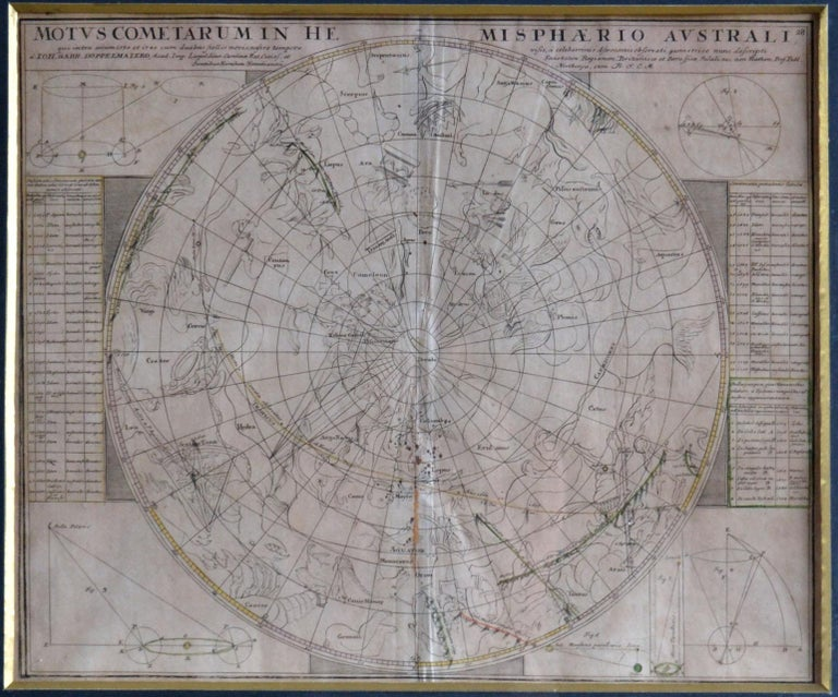 Engravings Celestial Charts, Cartographer, Astronomer Doppelmayr from 1740 For Sale 3