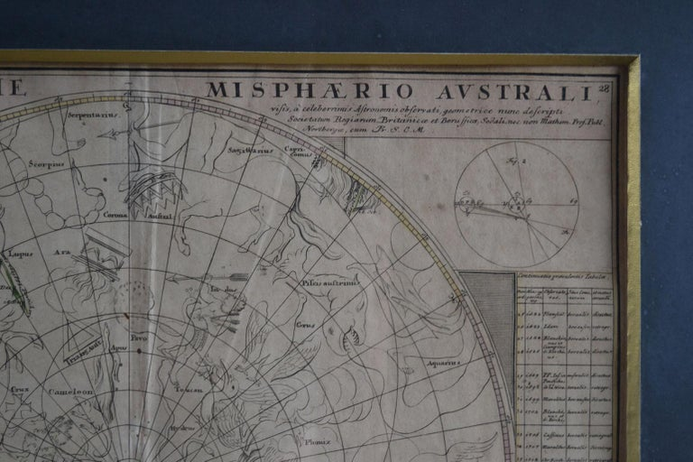 Engravings Celestial Charts, Cartographer, Astronomer Doppelmayr from 1740 For Sale 4