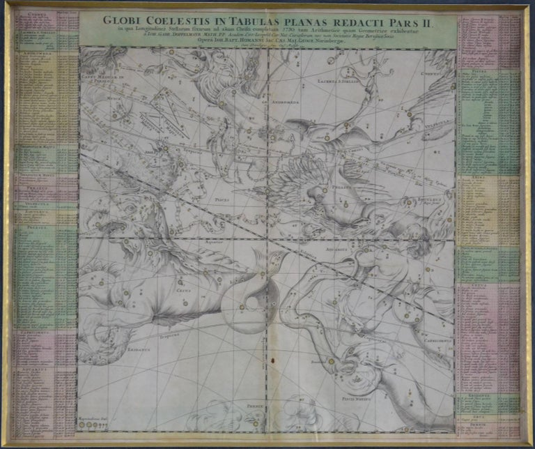 Engravings Celestial Charts, Cartographer, Astronomer Doppelmayr from 1740 For Sale 6