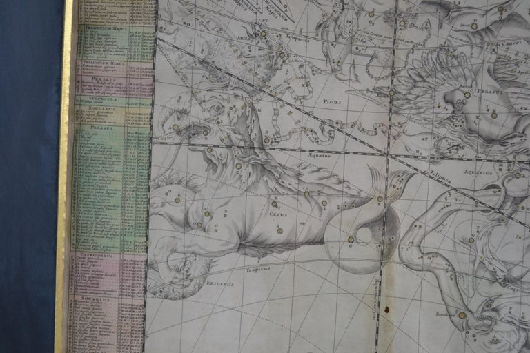 Engravings Celestial Charts, Cartographer, Astronomer Doppelmayr from 1740 For Sale 7