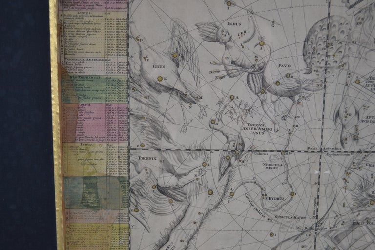 Engravings Celestial Charts, Cartographer, Astronomer Doppelmayr from 1740 For Sale 12