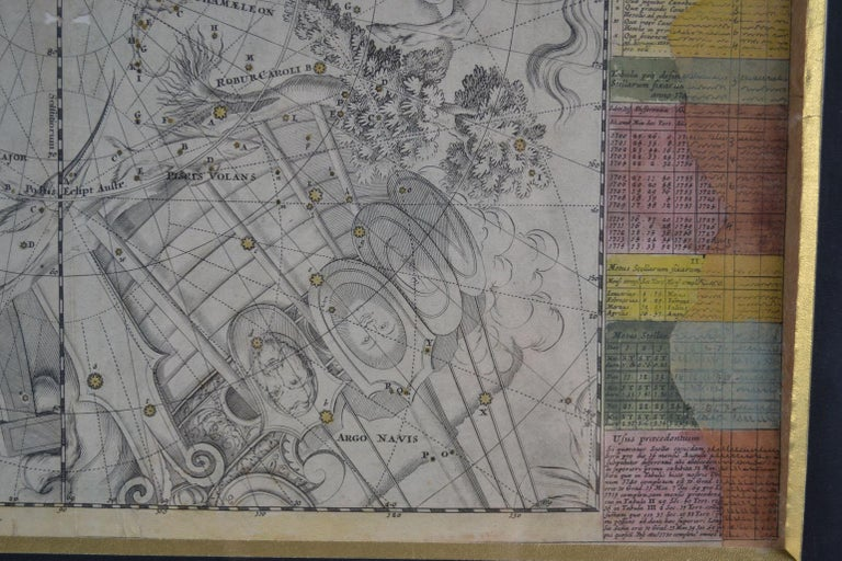Engravings Celestial Charts, Cartographer, Astronomer Doppelmayr from 1740 For Sale 13