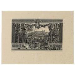 Engravings Representing Le Chateau De Blois Engraved Par Skelton