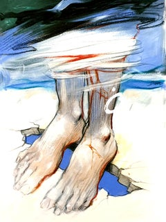 Enki Bilal - Feet - Original Lithograph