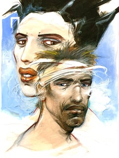 Enki Bilal - Ulysses and Penelope - Original Lithograph