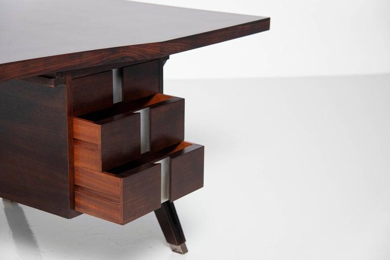 Mid-Century Modern Ennio Fazioli Writing Desk MIM Roma Italy 1958 For Sale