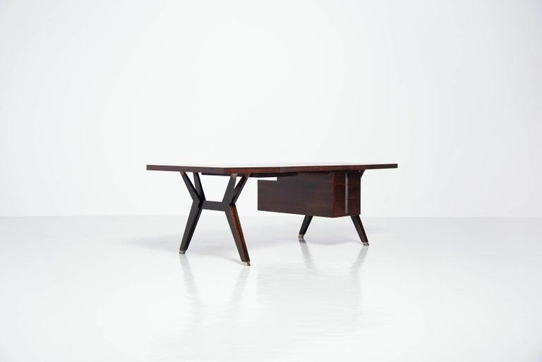 Italian Ennio Fazioli Writing Desk MIM Roma Italy 1958 For Sale