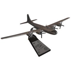 Enola Gay B-29 Bomber Model Airplane Signed by Pilot Paul Tibbetts WW II