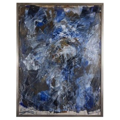 Enormous, 1985, Abstract Oil Painting